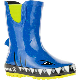 Kamik Sharky Rubber Boots Kinder strong blue
